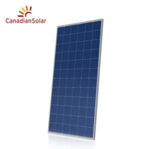 Canadian Solar Maxpower Cs6u 325p 325w Poly Slv Wht 1000v