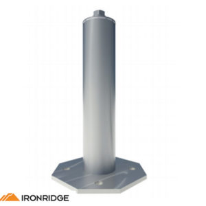 Ironridge 51 6004 500l Mill Finish 4 Quot Standoff 1pc